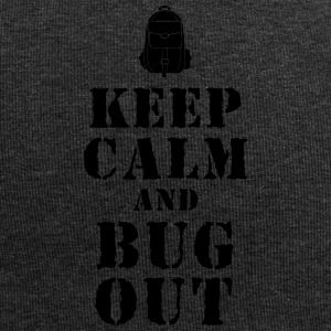Escape rugzak / Bug-Out-Bag Prepper T-shirt - Jersey-Beanie