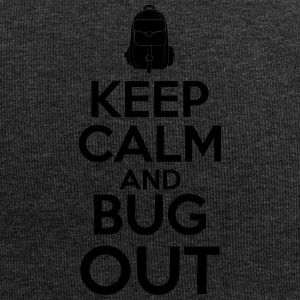 Keep Calm and Bug Out - Jersey-Beanie