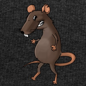 Fiese rat rodent vermin rodent mouse - Jersey Beanie