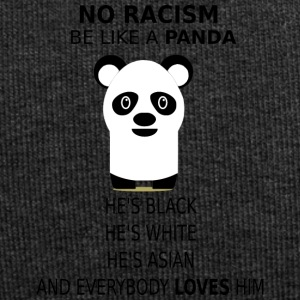 No Racism! Be like a panda! - Jersey Beanie