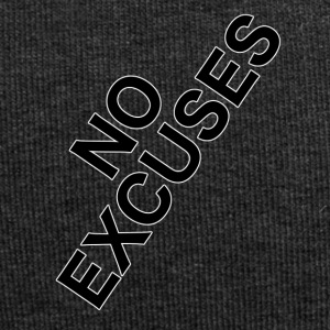 no_excuses - Jersey-Beanie