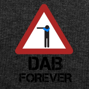 Dab Forever Red - Beanie in jersey