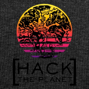 Hack the planet Motto T-Shirt - Jersey-Beanie