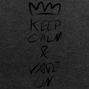 Keep Calm Crown Vape On - Jersey-Beanie