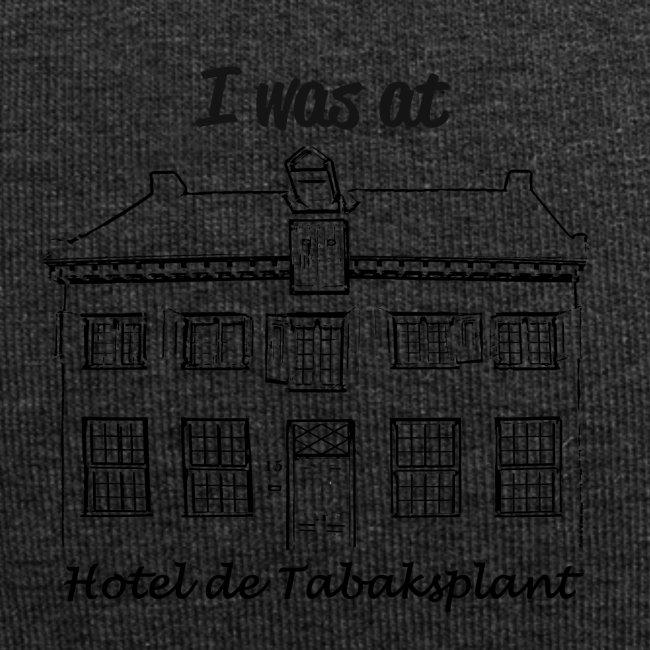 I was at Hotel de Tabaksplant BLACK