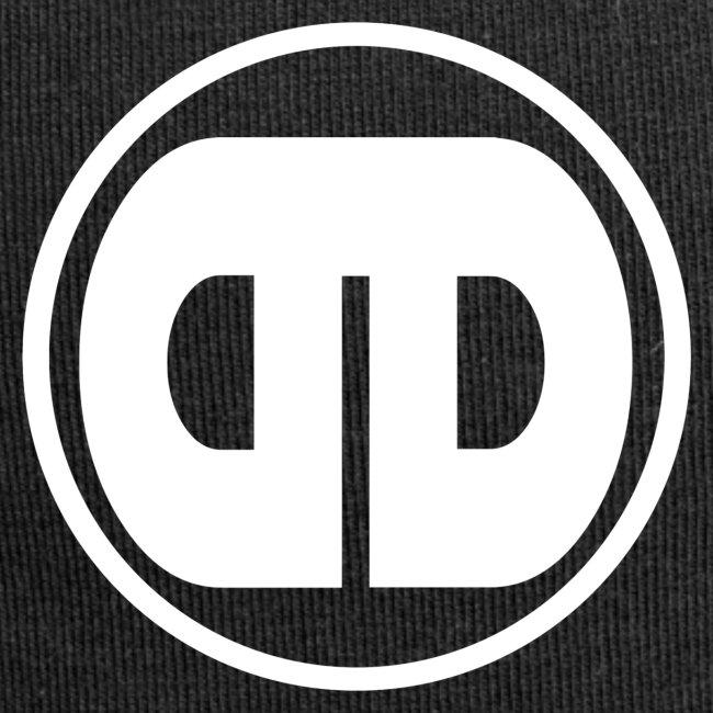 Different Drumz Simple No Text Logo White