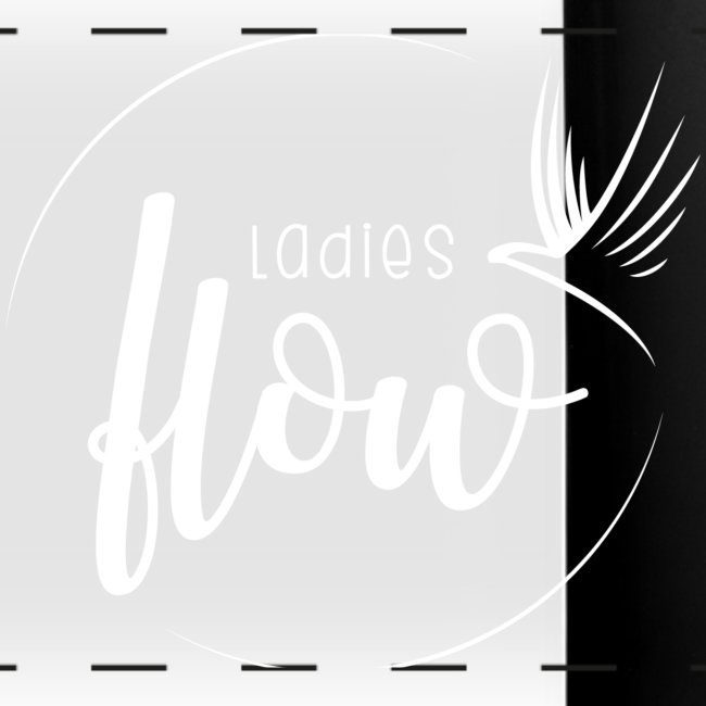 Ladies Flow LO Logo White