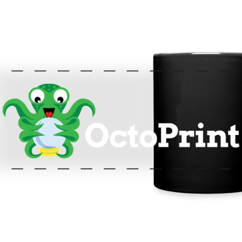 OctoPrint Logo Banderole - Full Color Panoramic Mug