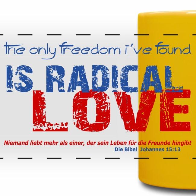 Radikale Liebe blue