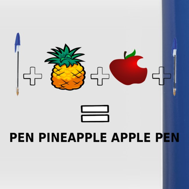 PINEAPPLE APPLE PEN