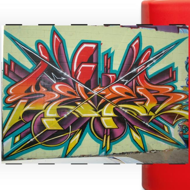 Free Graffiti Wallpaper 1 Panoramatasse Farbig