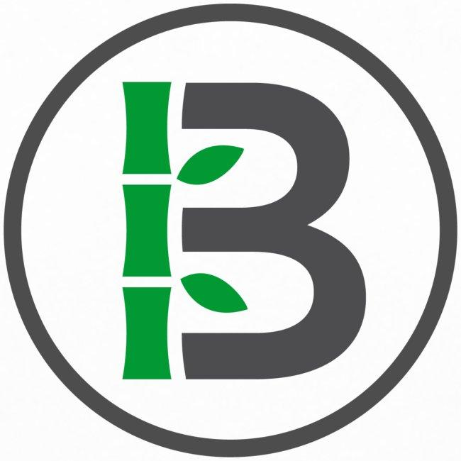 Biomboo Logo Circle Charcoal