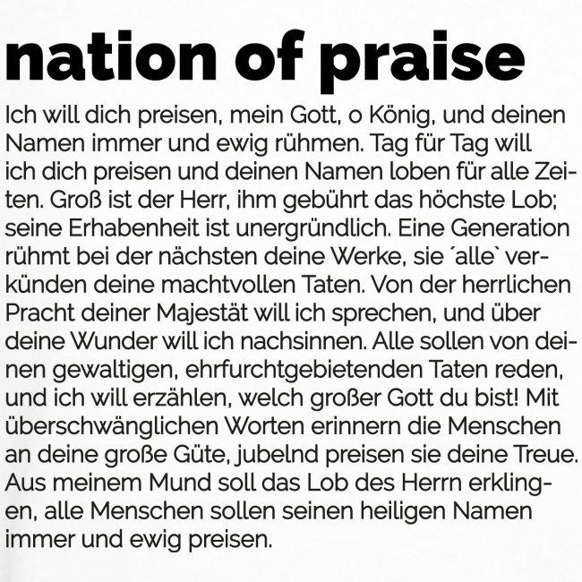 nation of praise // 024 // P DEUT