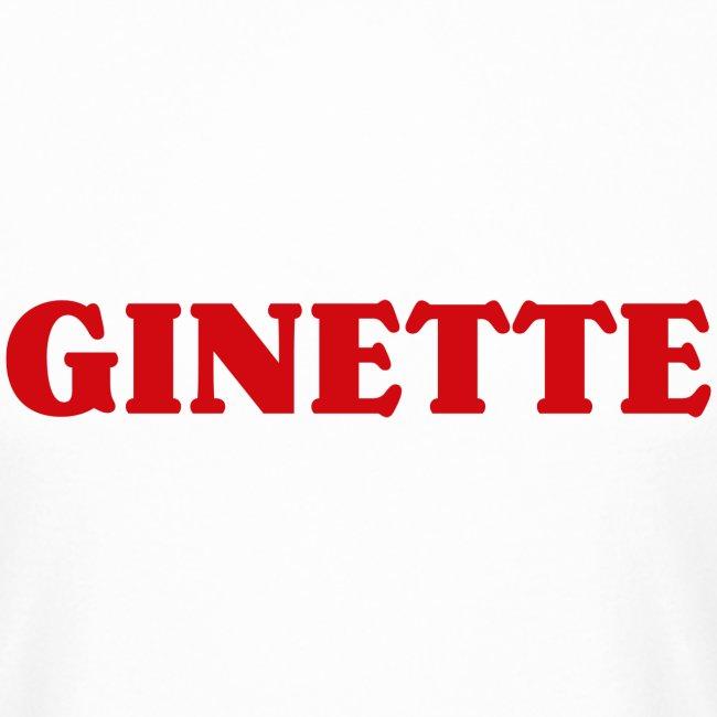 Ginette, simple, efficace... et rouge.