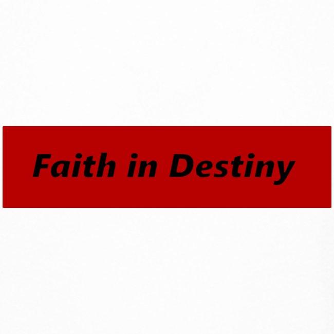 La fe en el destino