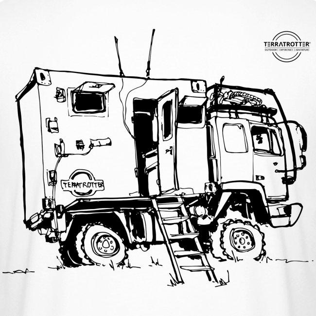 Expedition Truck   Terratrotter®   Men's Long Body Urban Tee