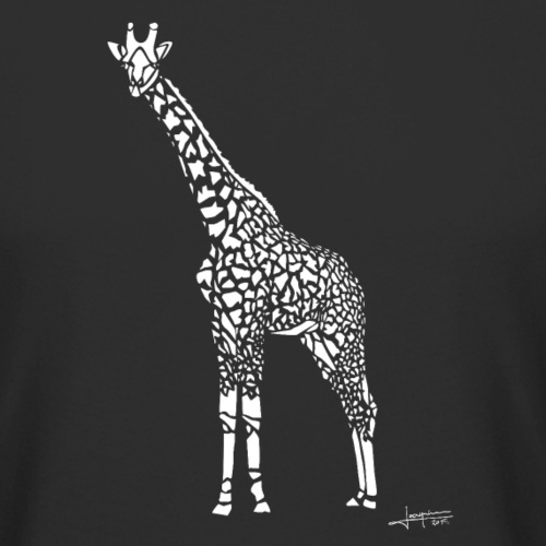 White Girafe by Joaquín - T-shirt long Homme
