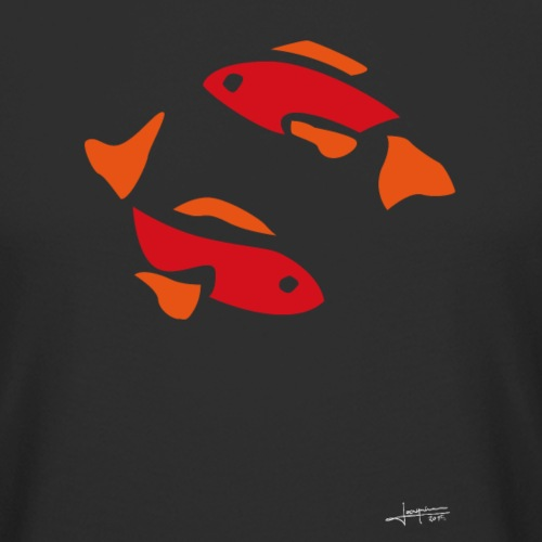 Poisson rouge By Joaquín - T-shirt long Homme