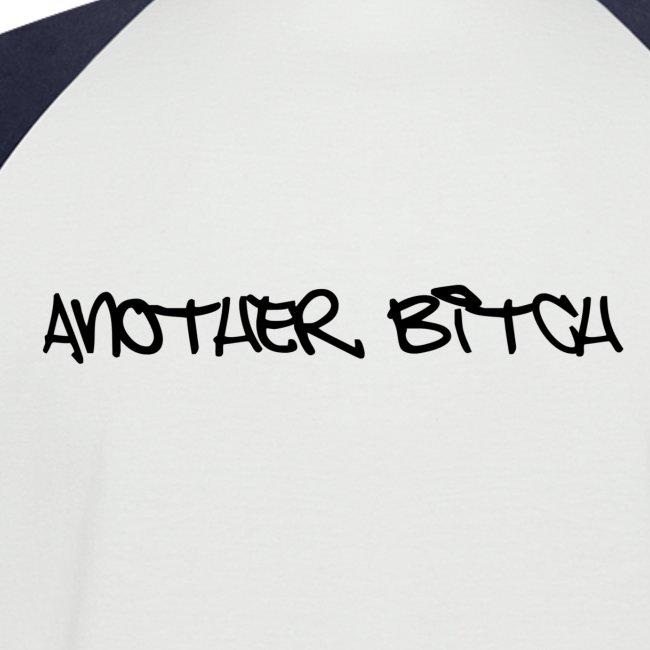 Weiß/navy anotherbitch T-Shirt