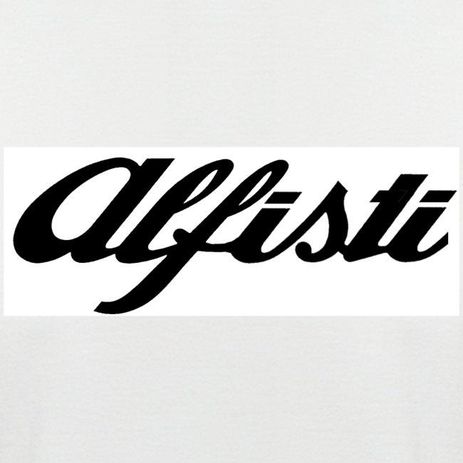 Alfisti (Big Logo) Raglan Rosso Longsleeve