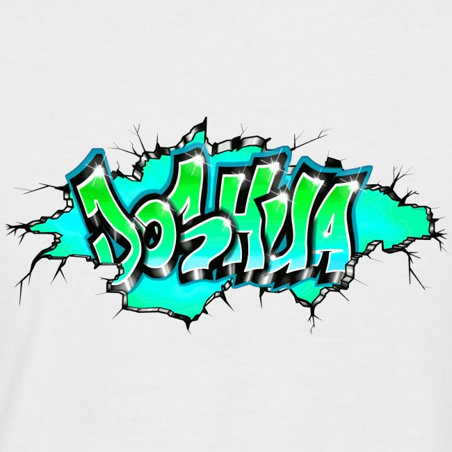 GRAFFITI JOSHUA PRINTABLE WALL BROKE
