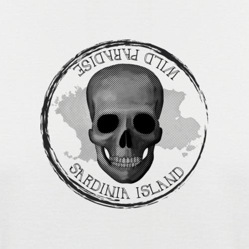 Sardegna Teschio Pirata - Maglia da baseball a manica corta da uomo
