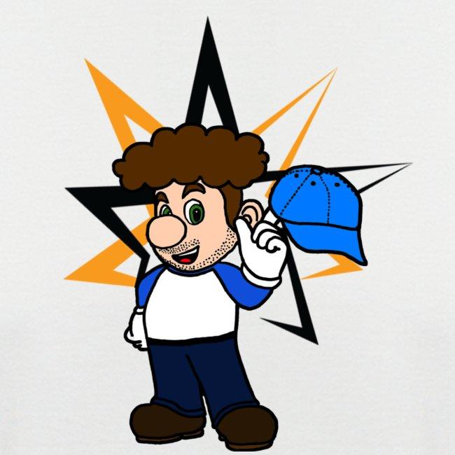 Tesalbert mit Hut und Stern png