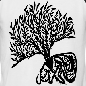 tree tribe - Men's Baseball T-Shirt