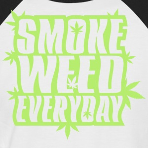 SMOKE_WEED_EVERYDAY - T-shirt baseball manches courtes Homme