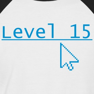 Level 15 - Men's Baseball T-Shirt