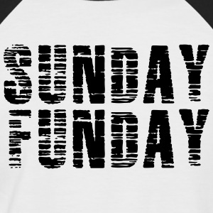 Sunday Funday - Men's Baseball T-Shirt