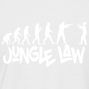 JUNGLE_LAW - Männer Baseball-T-Shirt