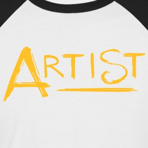 Artist 's signature - Men's Baseball T-Shirt