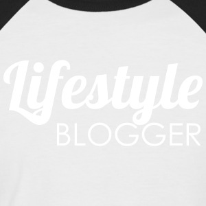 Lifestyle Blogger - Men's Baseball T-Shirt