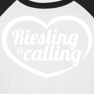 Riesling is calling - Men's Baseball T-Shirt