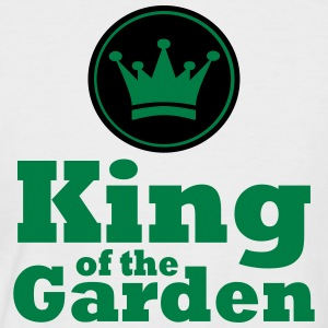 King of the Garden - Kortærmet herre-baseballshirt