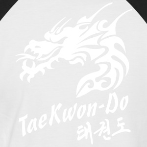 Taekwondo Dragon - Men's Baseball T-Shirt