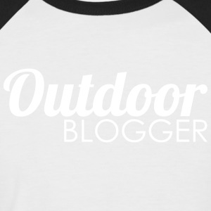 en plein air Blogger - T-shirt baseball manches courtes Homme