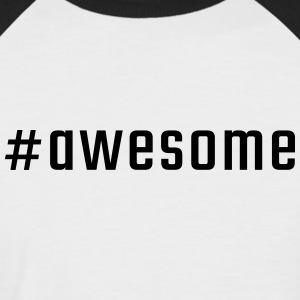 #awesome - T-shirt baseball manches courtes Homme