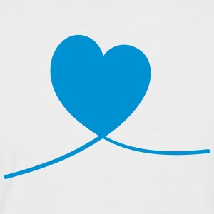 heart line - Men's Baseball T-Shirt