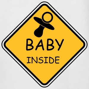 Baby Inside - Men's Baseball T-Shirt