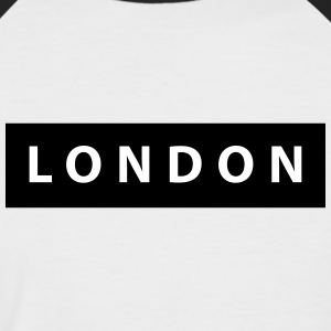 london_silhouette - Men's Baseball T-Shirt