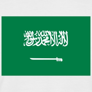 National Flag Of Saudi Arabia - Men's Baseball T-Shirt