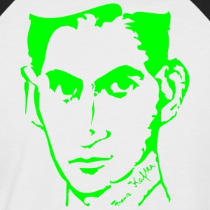 Portrait of Franz Kafka - Men's Baseball T-Shirt