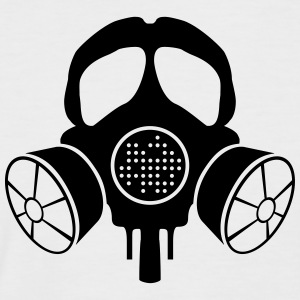 INANI double gas mask - Men's Baseball T-Shirt