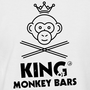 King of Monkey Bars - Men's Baseball T-Shirt