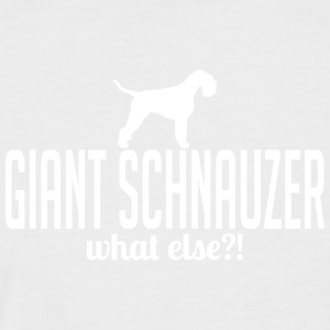 GIANT SCHNAUZER what else - Männer Baseball-T-Shirt
