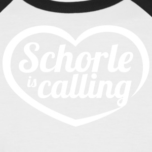 Schorle is calling - Männer Baseball-T-Shirt