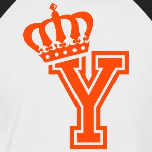 Letter Y - Men's Baseball T-Shirt