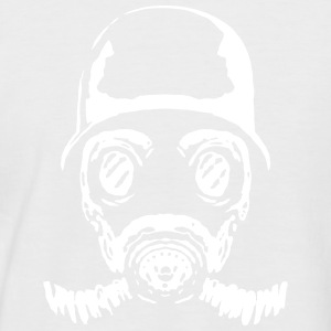 005 gasmask 23 - Men's Baseball T-Shirt